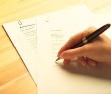 Carta de Renuncia a un trabajo