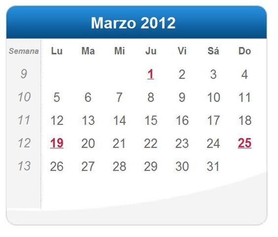 calendario x games 2012
