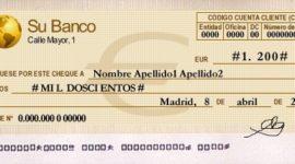 Qué es un cheque