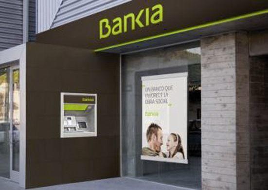 cajeros y sucursales de bankia