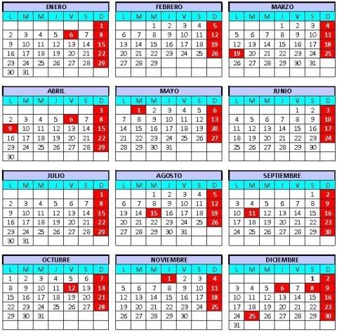 Calendario Laboral De Cataluna.Calendario Laboral Cataluna 2012 Definanzas Com