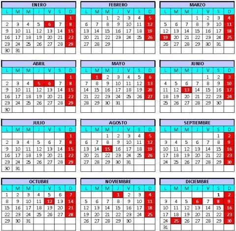 Calendario Laboral Ceuta 2019.Calendario Laboral Ceuta 2012 Definanzas Com