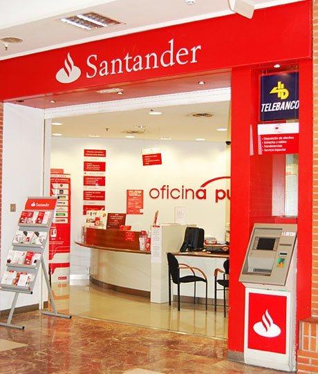 Cajeros santander for Sucursales banco espana