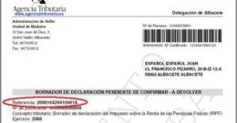 Cómo confirmar y modificar el Borrador de la Renta 2018 (IRPF 2017)