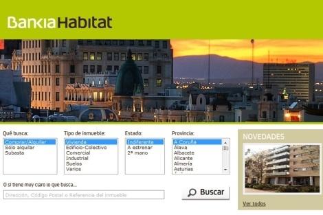 Alquiler de pisos con bankia habitat for Paginas web alquiler pisos