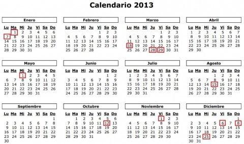 calendario-laboral-2013