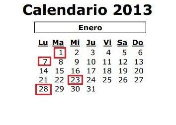 calendario laboral enero 2013 castilla la mancha