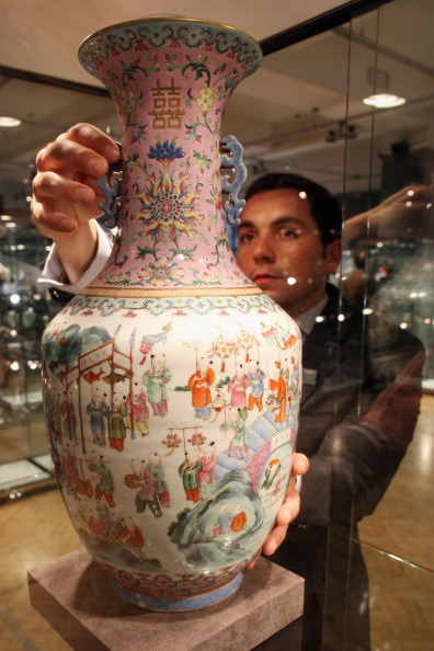 Treasures From Imperial China Are Set To Be Auctioned At Bonhams