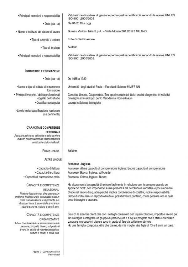 tipo-curriculum-vitae-formato-europeo-europass