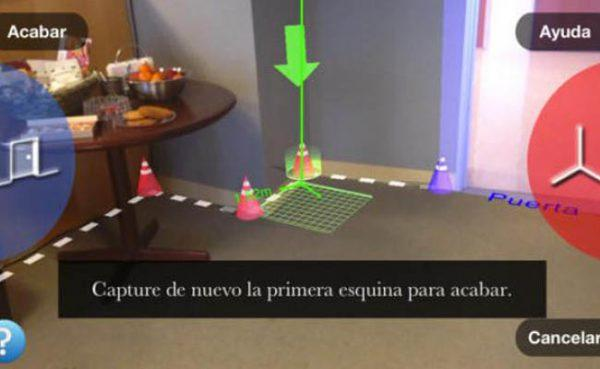 Smartphone herramienta tasar pisos gratis