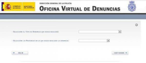 Como denunciar estafa internet oficina virtual de for Oficina virtual internet