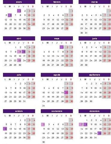 Calendario Laboral 2015 Aragón