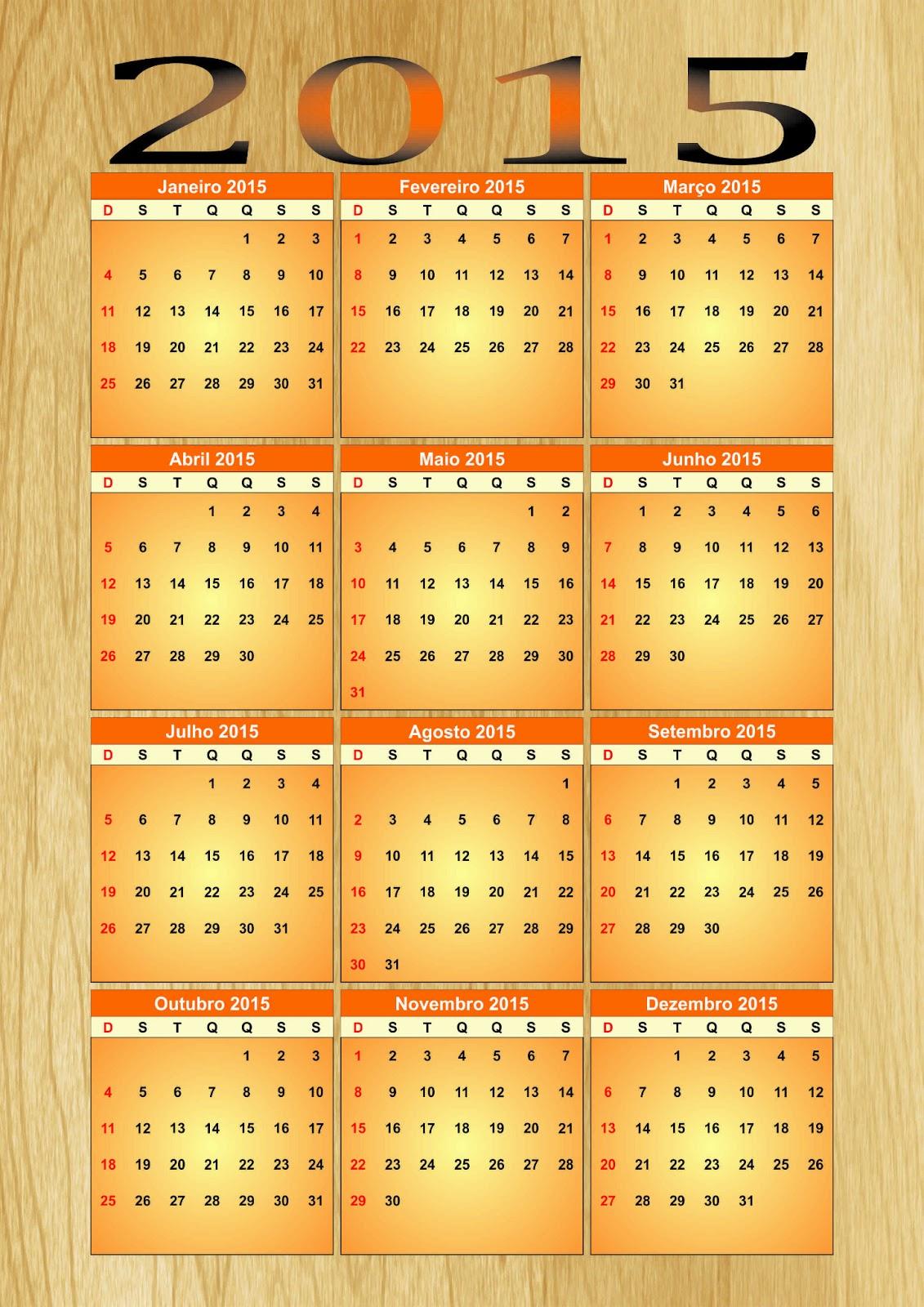 calendario 2015 madrid