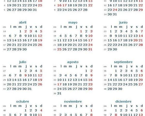 Calendario Laboral 2015 Galicia