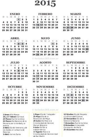 Calendario Laboral 2015 Cataluña