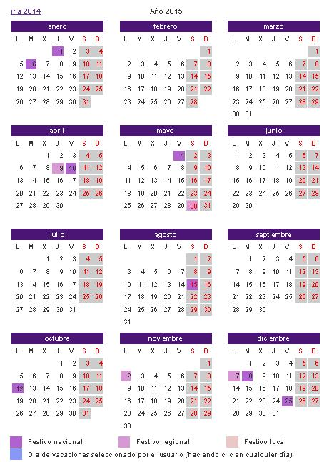 Calendario laboral 2016 canarias - Festivos tenerife ...