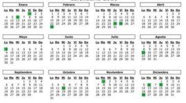 Calendario Laboral Islas Baleares 2019