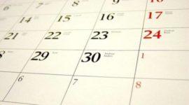 Calendario laboral Aragón 2019