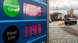 Precio del combustible en España en 2015