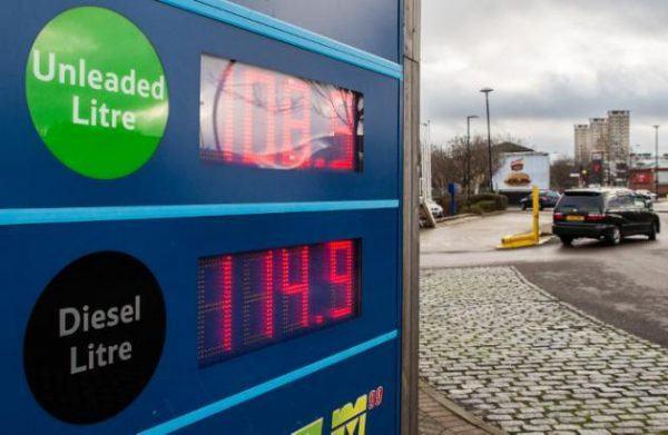 Precio-del-combustible-en-España-en-2015