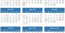 Calendario para presentar la declaración de la renta en 2018 (IRPF 2017) – Fechas