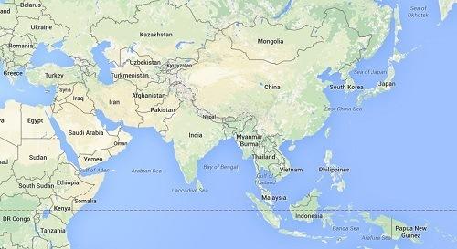 Asia-paises-subdesarrollados