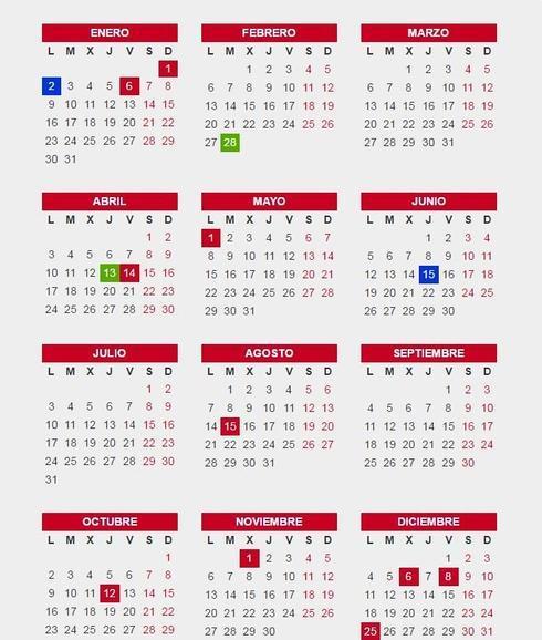 calendario laboral andaluc a 2017