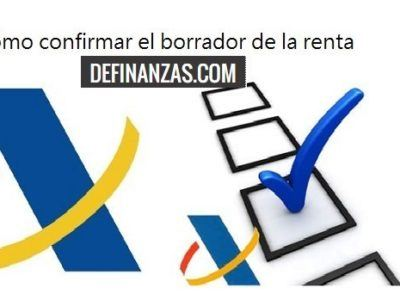 Cómo confirmar y modificar el Borrador de la Renta 2017 (IRPF 2016)