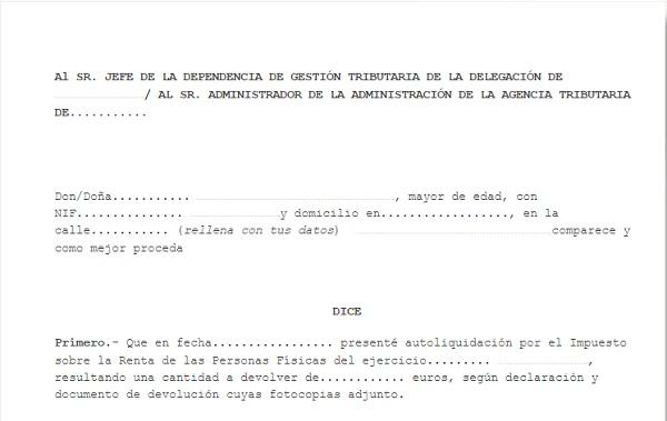 modelo-solicitud-devolucion-declaracion-renta-irpf