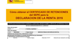 Retención del IRPF en las prestaciones por desempleo