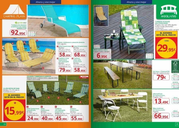 Cuando son las rebajas alcampo invierno 2018 for Rebajas mobiliario jardin