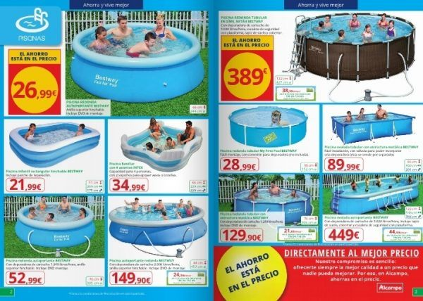 rebajas-alcampo-verano-2016-piscina