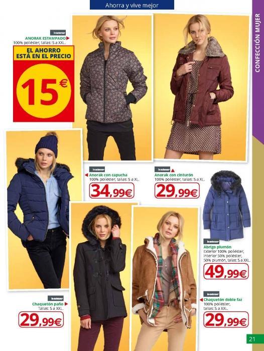 rebajas-invierno-alcampo-ropa-abrigo-mujeres