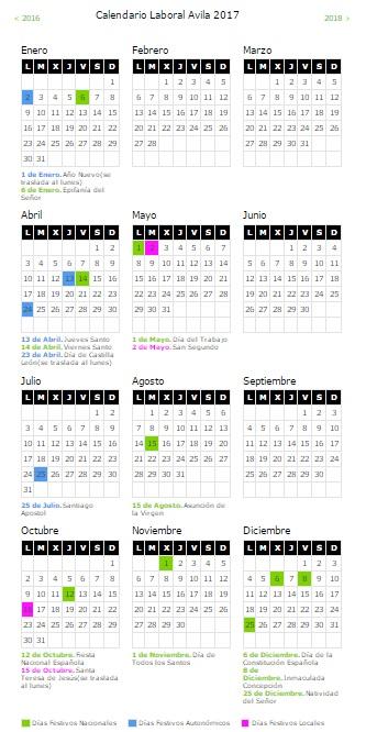 calendario-laboral-avila