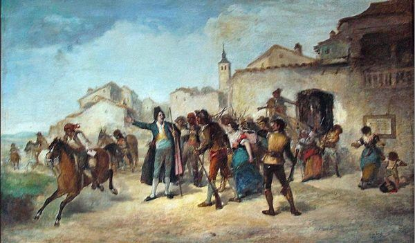 El primer hombre que llamó a la insurrección nacional contra los franceses el 2 de Mayo de 1808 fue el Alcalde de la muy Noble Villa de Móstoles