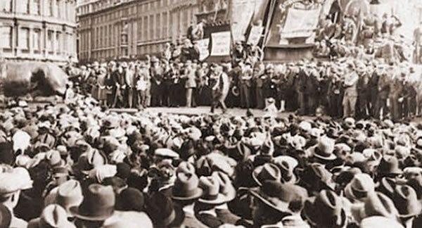 Manifestación en contra de la Ley Ingersoll