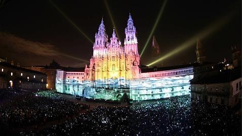Espectáculos de luces y de fuegos artificiales.