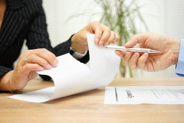 Firma carta de despido