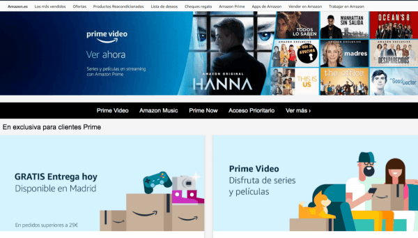 Amazon Prime Day suscripción