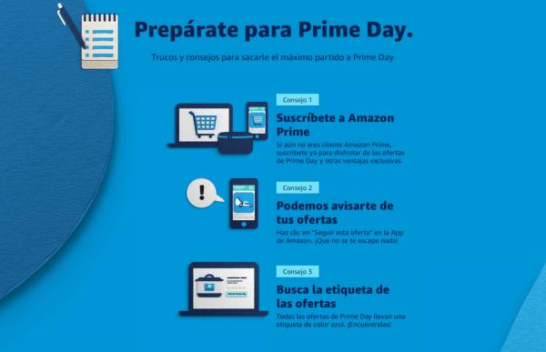 Amazon Prime Day consejos
