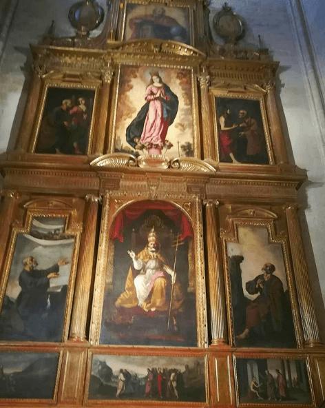Cuándo es el Día de la Inmaculada Concepción 2020 retablo