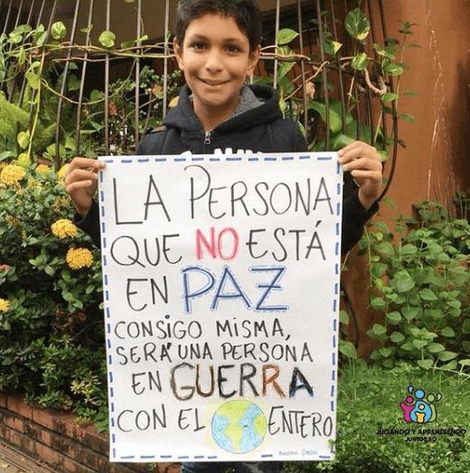 ¿Cuándo es el Día escolar de la Paz y la no Violencia 2021? Cartel