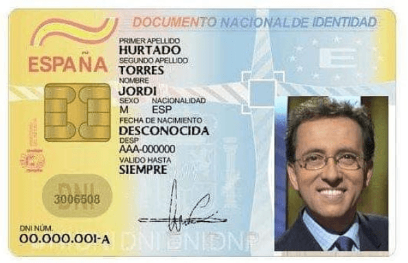 Los requisitos para renovar el DNI: Documentación documento
