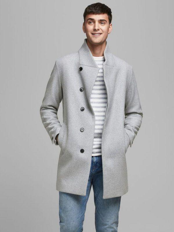 Cuando son rebajas jack jones 2021 abrigo lana