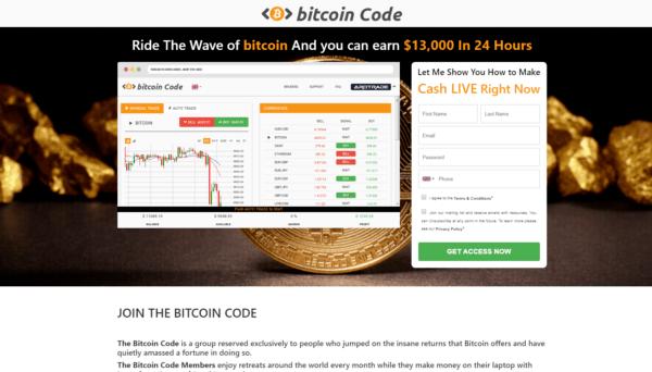 Bitcoin Code opiniones y reseña