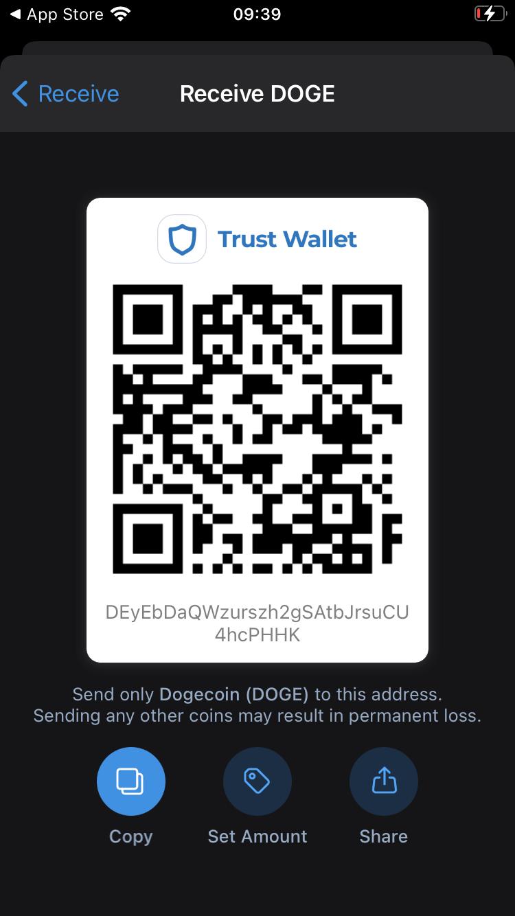 Enviar recibir wallet