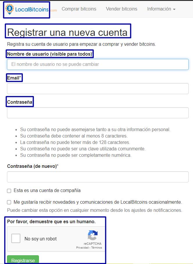 registro localbitcoins