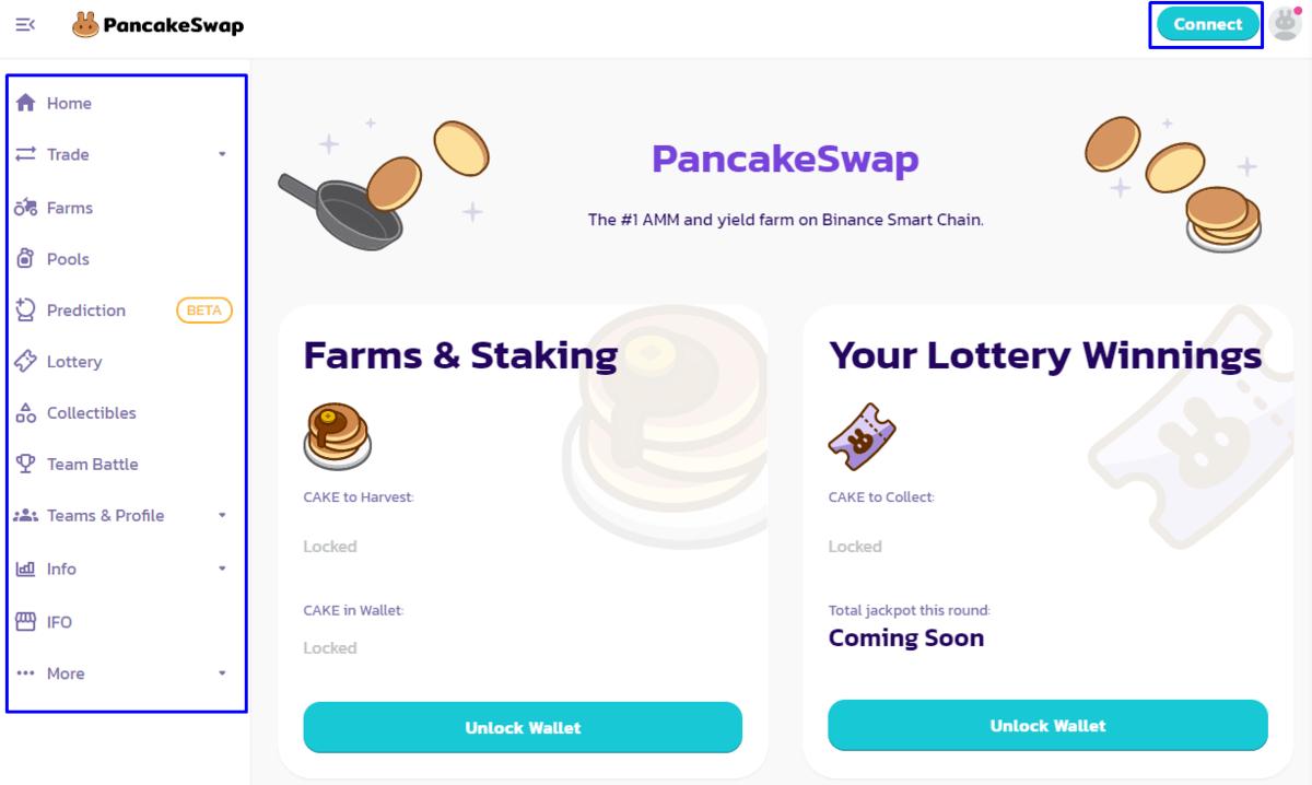 entrar a pancakeswap