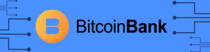 bitcoin bank robot logo