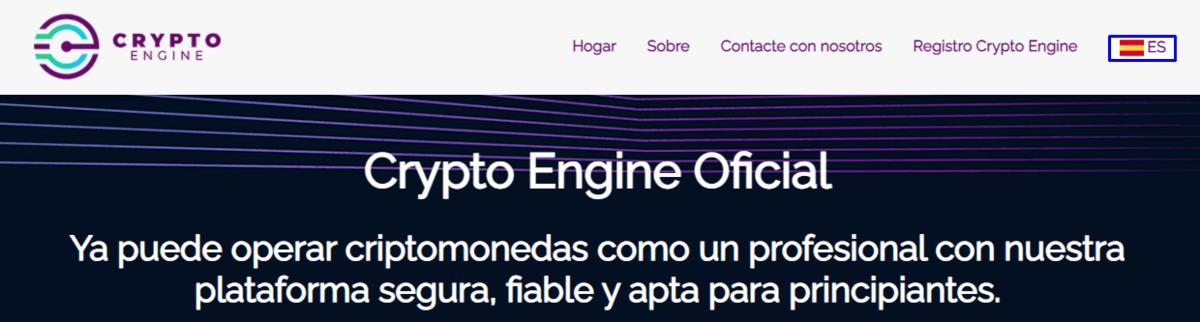 entrar en crypto engine